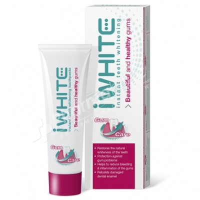 iwhite instant teeth whitening healthy gums toothpaste. Black Bedroom Furniture Sets. Home Design Ideas