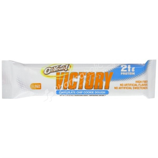 ... Sports Protein Bar Oh Yeah! Victory Chocolate Chip Cookie Dough -65g
