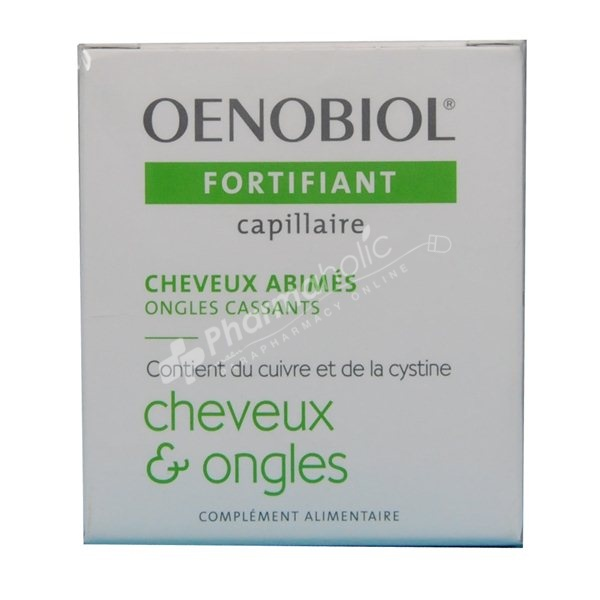 Supplements Oenobiol Fortifying Hair Amp Nails 60 Capsules