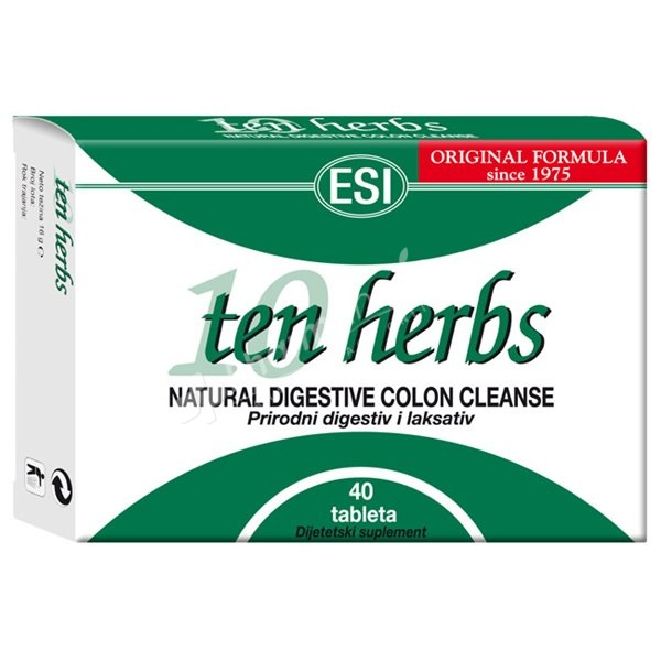 Ten Herbs Powdered & Pressed Herbs