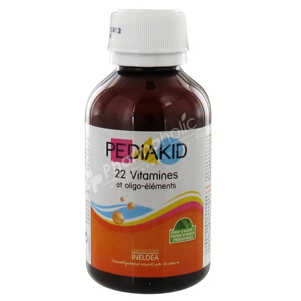 Supplements Pediakid 22 Vitamins Amp Trace Elements