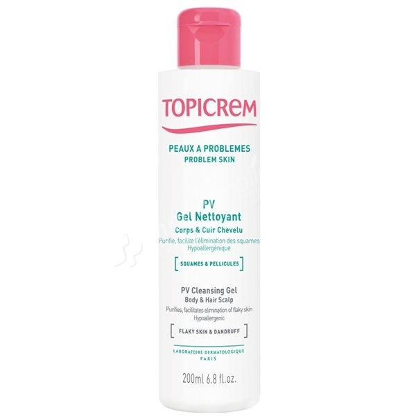 Topicrem PV Cleansing Gel Body & Hair Scalp