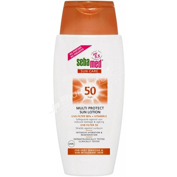 Sebamed SPF50+ Multi Protect Sun Lotion