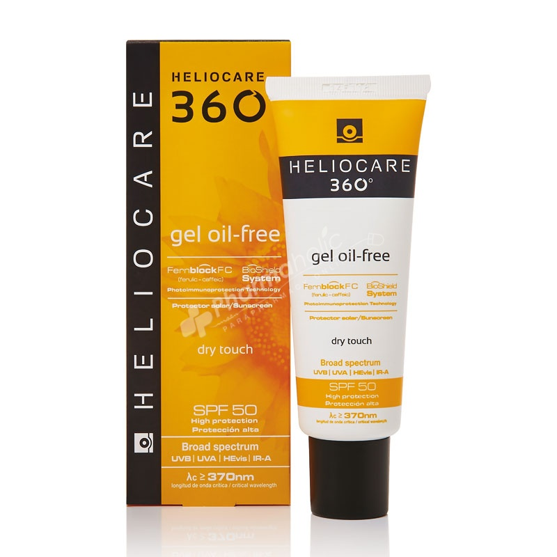 Heliocare 360 oil-free gel SPF50