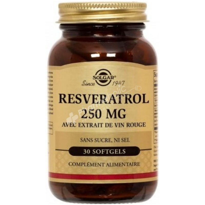 Solgar Resveratrol with Red Wine Extract