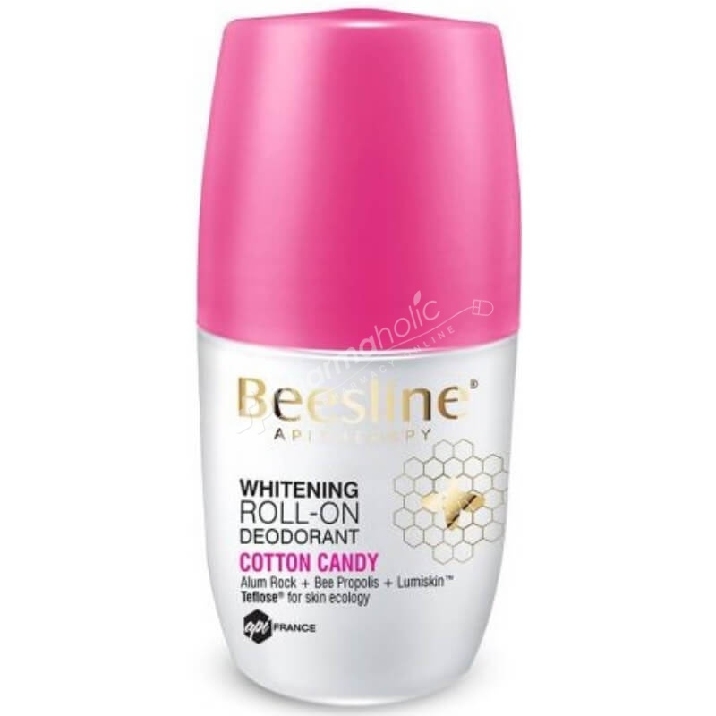 Beesline Whitening Roll-On Deodorant  Cotton Candy