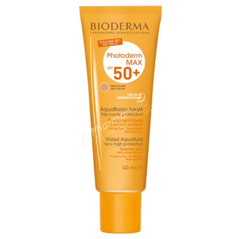 Bioderma Photoderm Max Tinted Aquafluid Light Color SPF 50+