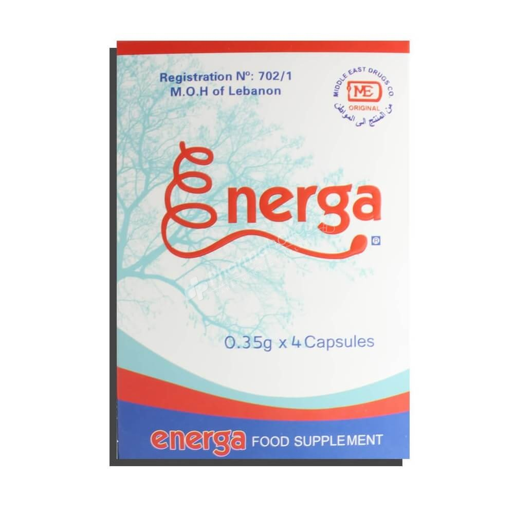 SUPPLEMENTS : Energa -0.35g x 4 Capsules-