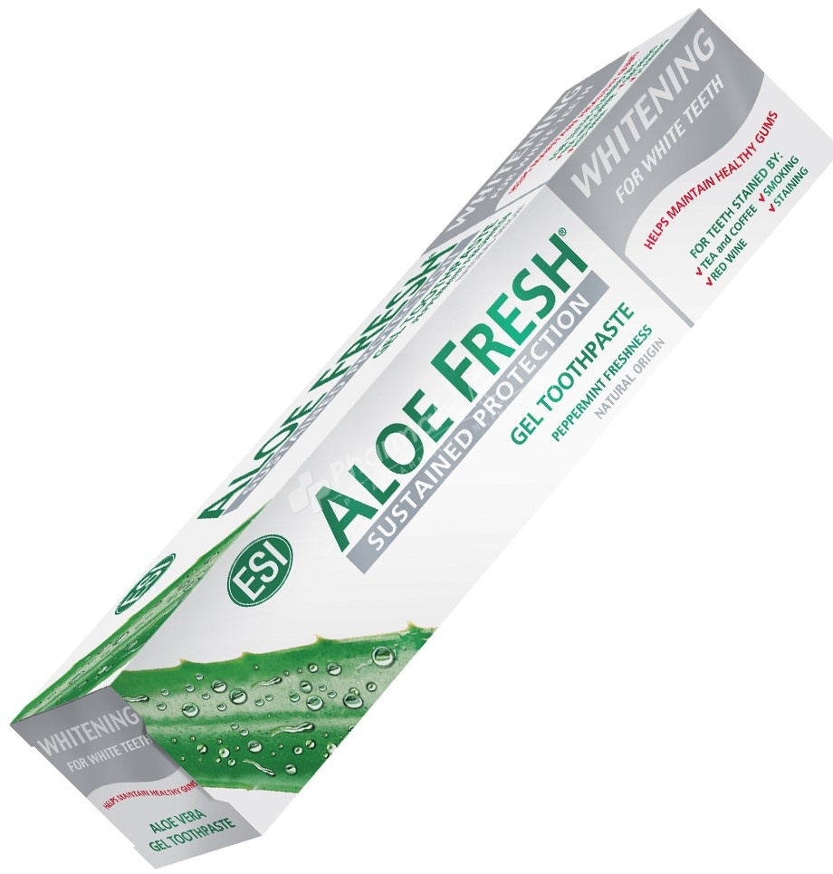ESI Aloe Fresh Gel Toothpaste Whitening