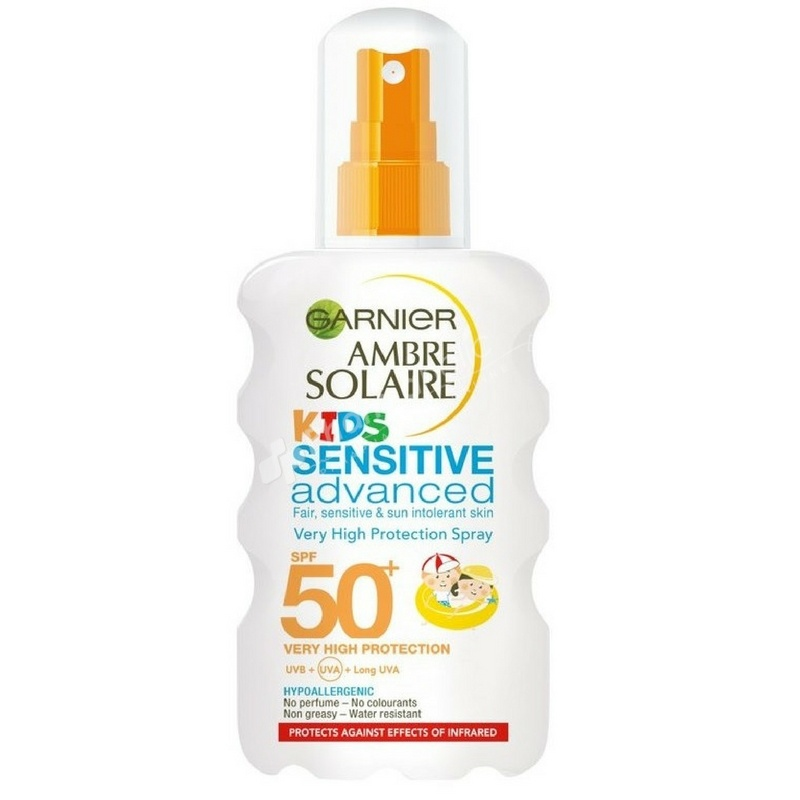 Garnier Ambre Solaire Kids Sensitive Advanced Protection Spray SPF50+