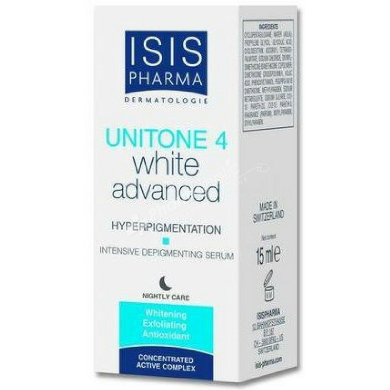 ISIS Pharma Unitone 4 White Advanced Intensive Depigmenting Serum