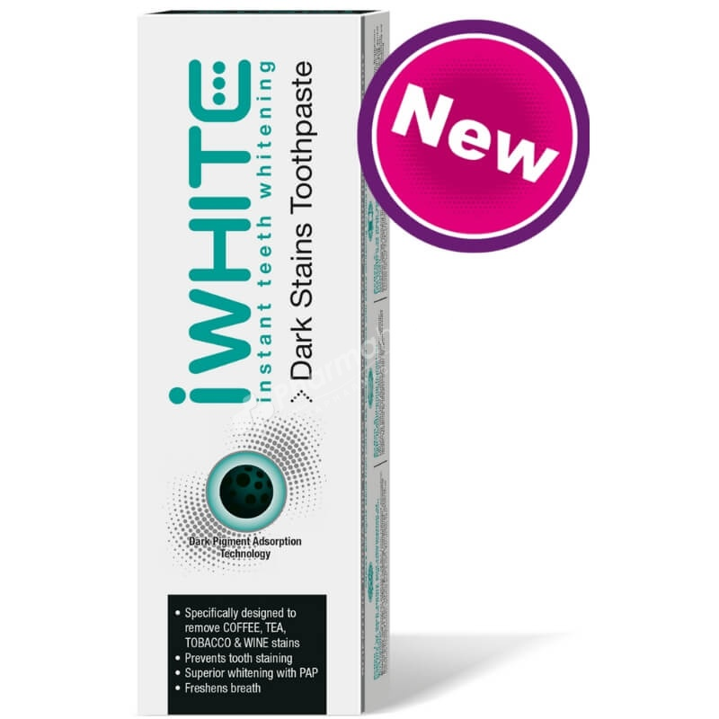iWhite Instant Teeth Whitening Dark Stains Toothpaste