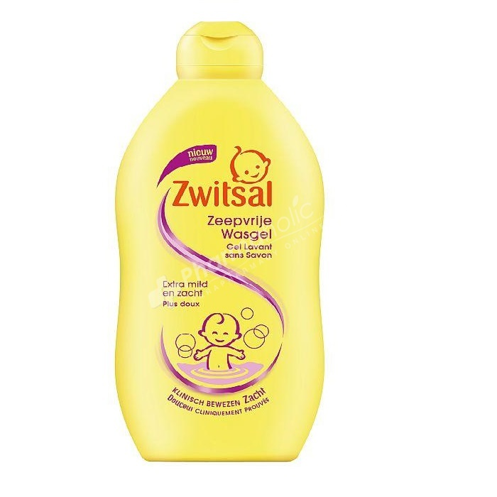 Zwitsal Soap Free Washing Gel