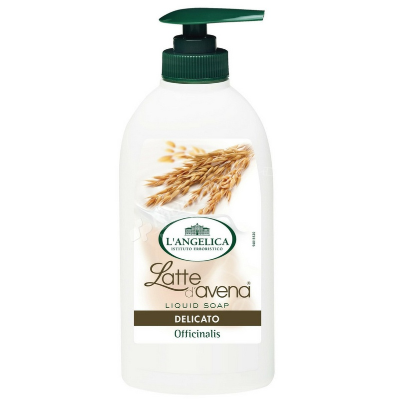 L'Angelica latte D'Avena Liquid Soap ( Oat Milk)