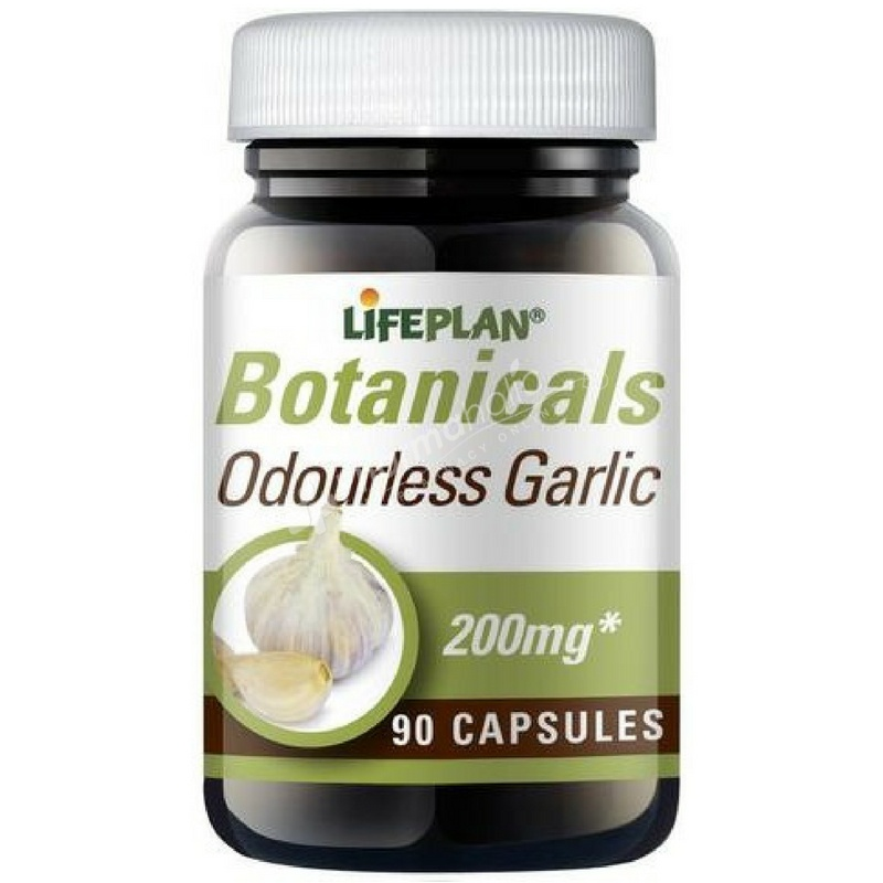 Lifeplan Botanicals Odourless Garlic