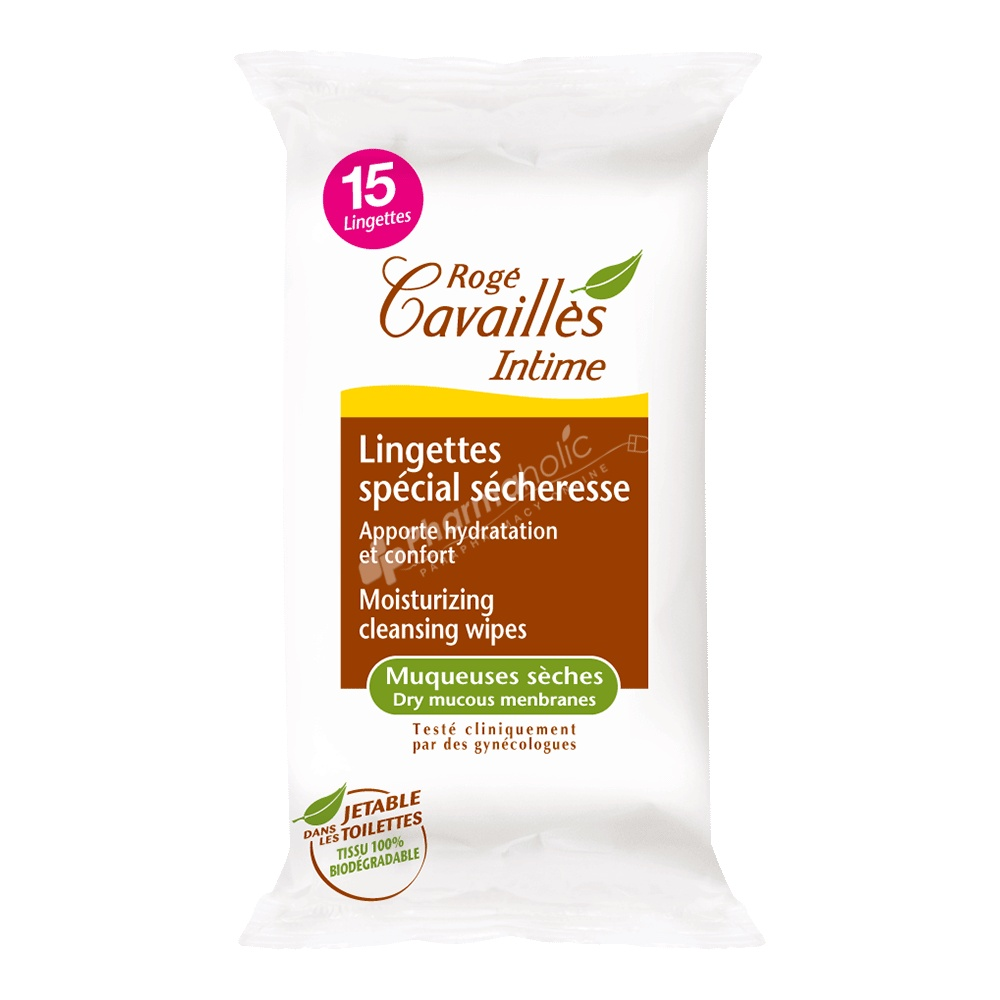 Rogé Cavaillès Intime Special Moisturising Wipes