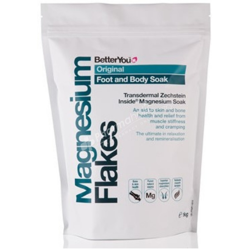 BetterYou Magnesium Flakes Body Soak