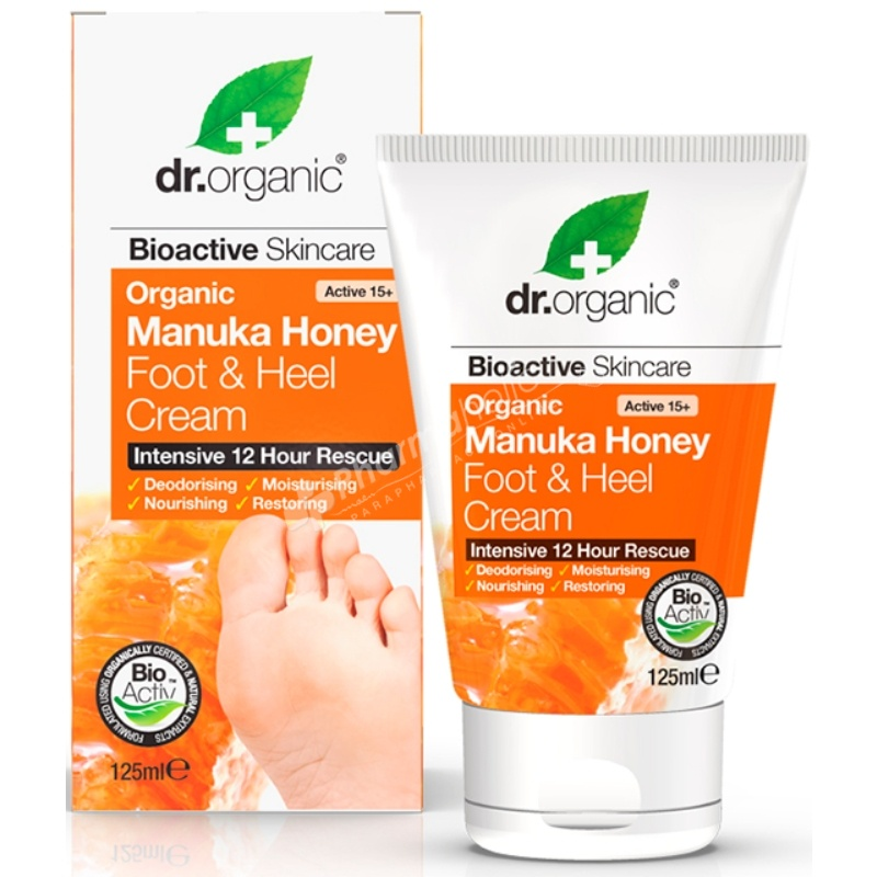Dr.Organic Organic Manuka Honey Foot & Heel Cream