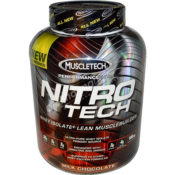 SUPPLEMENTS : MuscleTech Nitro Tech Whey Protein