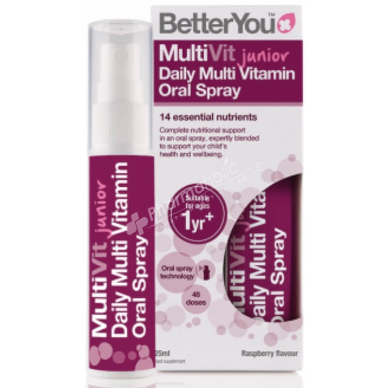 BetterYou MultiVit Junior Daily Multi Vitamin Oral Spray
