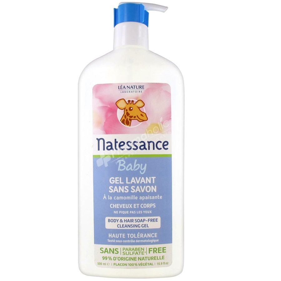 Natessance Body & Hair Soap-Free Cleansing Gel