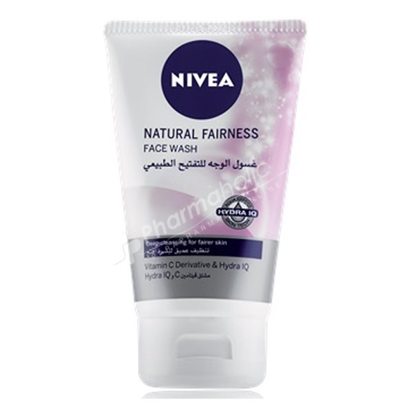 BEAUTY : Nivea Natural Fairness Face Wash -100ml-