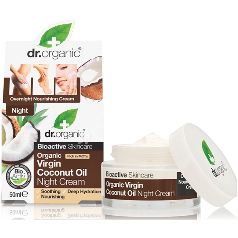 Dr Organic Virgin Coconut Oil Night Cream