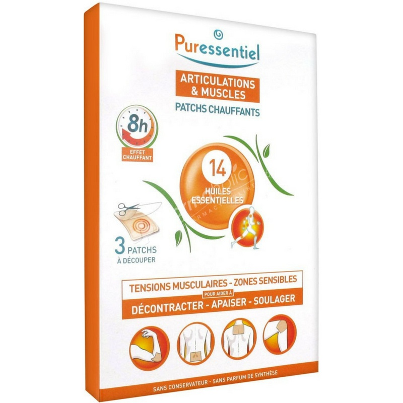 Puressentiel Muscles and Joints Heating Patches