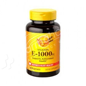 Natural Wealth Vitamin E 1000 IU
