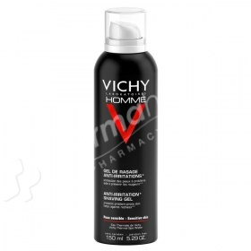 Vichy Homme Anti-Irritation Shaving Gel -150ml-