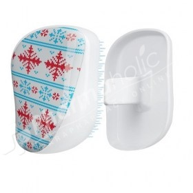 Tangle Teezer On-The-Go Detangling Hair Brush Smooth and Shine