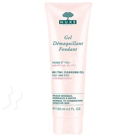 Nuxe Melting Cleansing Gel with Rose Petals