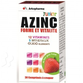 Arkopharma Azinc Junior Form & Vitality Strawberry Flavor