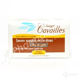 Rogé Cavaillès Extra-Mild Cotton Flower Surgras Soap for Sensitive Skin