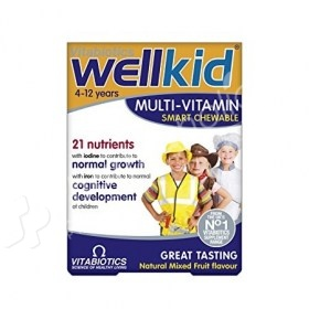 Vitabiotics Wellkid Multi-Vitamin Smart Chewable