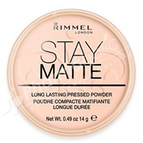Rimmel London Stay Matte Long Lasting Pressed Powder Pink Blossom
