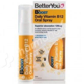 BetterYou B12 Boost Daily Vitamin B12 Oral Spray