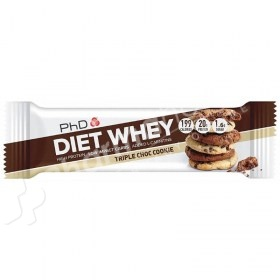 PhD Diet Whey Bar Triple Choc Cookie