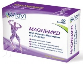 Viavi Magnemed High Potency Magnesium and B-Complex