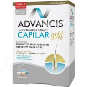 Advancis Hair Strength & Growth Capilar Gold