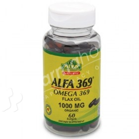Alfa Vitamins Natural Alfa 3.6.9 Omega 3.6.9 Flax Oil