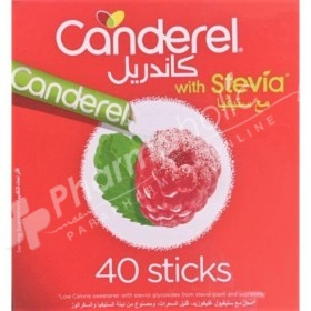 Canderel with Stevia