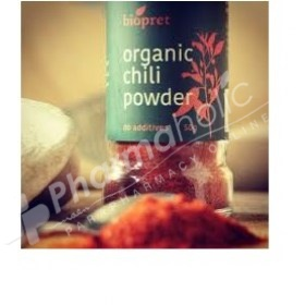 Biopret Organic Chili Powder