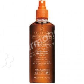 Collistar Supertanning Moisturizing Dry Oil SPF15
