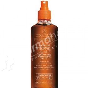 Collistar Supertanning Moisturizing Dry Oil SPF6