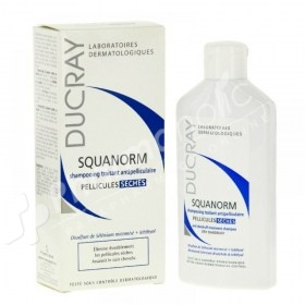 Ducray Squanorm Anti-Dandruff Treatment Shampoo Dry Dandruff