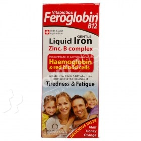Vitabiotics Feroglobin B12 Gentle Liquid Iron