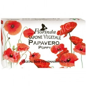 Florinda Vegetal Soap Poppy
