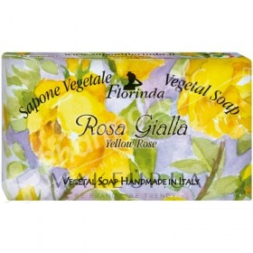 Florinda Vegetal Soap Yellow Rose
