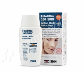 Foto Ultra ISDIN Active Unify Fusion Fluid Spf 100+